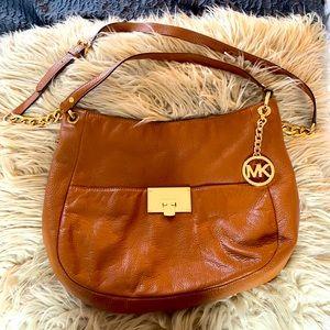 Michael Kors Saddle Brown Leather Bag